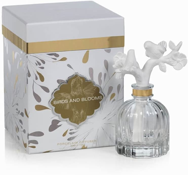 ZODAX Illuminaria Porcelain Max 88% OFF Diffuser Plume D'Amour - low-pricing