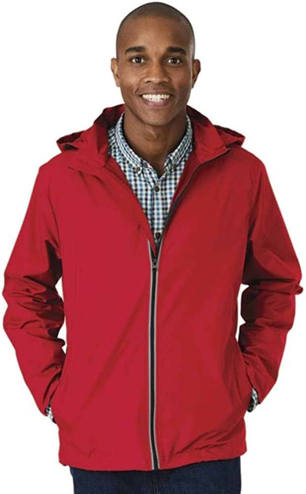 Charles River Apparel Men's Pack-n-go Full Zip Reflective Jacket