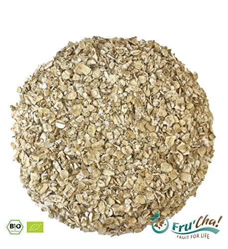 Fru'Cha! Bio-Haferflocken Kleinblatt, glutenfrei, paleo - 500 g - plastikfrei verpackt - 100% kompostierbar