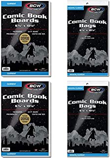 BCW Current Bag and Board 200 Bags and 200 Boards