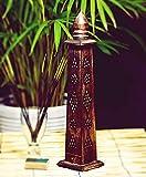 Bliss UK–Quemador de incienso soporte para incienso–mejores regalos india hecho a mano de madera variedad de diseños, bambú sólo de la mecha