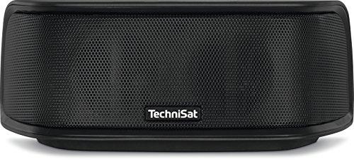 TechniSat BluSpeaker ID 100 Bluetooth-Lautsprecher (klein, tragbar, für Outdoor geeignet, mit 10 W) schwarz