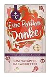 t: by tetesept Badesalz Eine Portion Danke – Hauchfeine Puderkristalle mit Granatapfel und Kakaobutter - Bade-Geschenk für die Sinne - 10er Pack (10 x 60 g)
