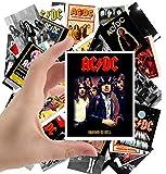 Large Stickers (24pcs 2.5'x3.5') AC/DC Rock Music Posters Photos Vintage Magazine covers AC DC