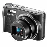 Samsung WB500 Digitalkamera (10,2 Megapixel, 10-fach opt. Zoom, 24mm Ultra-Weitwinkel, 6,9 cm (2,7 Zoll) Display, Bildstabilisator) schwarz