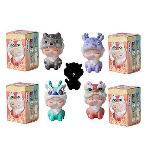 Fifimin Mysterious Mini caixa-surpresa, joias aleatórias de ano novo chinês, boneca sorte, presente muito misterioso, adequado