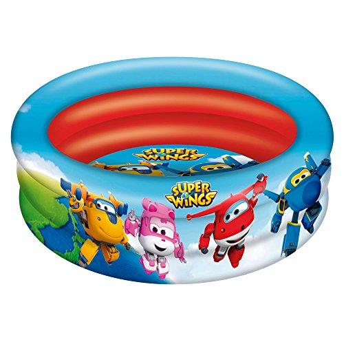 Super Wings - Piscina 3 aros, 86 cm...