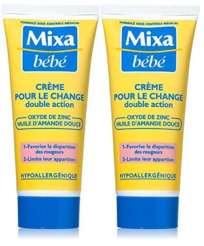 Mixa Baby-Creme Lot von 2 x 100 ml
