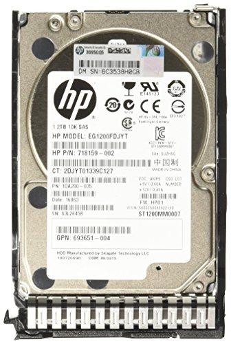 HP 1.2TB 6G SAS 10K RPM SFF - Disco Duro (Serial Attached SCSI...