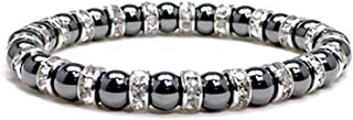 Accents Kingdom Magnetic Bracelet Women's Tuchi Simulated Pearl Hematite Magnetic Therapy Bracelet