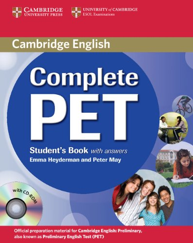 Heyderman, E: Complete PET Student's Book with answers with