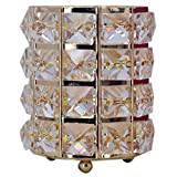 ACAMPTAR Dekorative Kristall Glas Flasche Für Kommode Berg Kristall Stift Container Ornament Bleistift Halter Desktop Dekoration