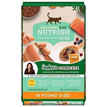 Rachael Ray Nutrish Indoor Complete Dry Cat Food  18 lbs