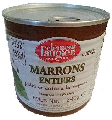 Clément Faugier - Marrons Entiers - Pelés et Cuits à la vapeur
