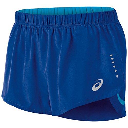 ASICS Pantalones Cortos Speed Split para Hombre, Hombre, 121605, Air Force Azul, L
