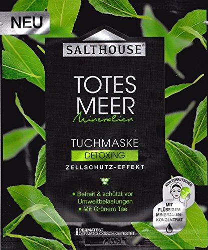 Salthouse Totes Meer Tuchmaske Detoxing, 1 St
