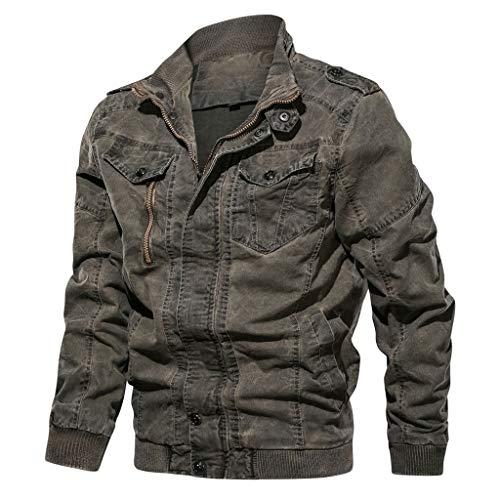 Blouson Homme Hiver Chaud Militaire Tactical Outwear Vintage Veste Manteau Hivers Grande Taille Gilet Zippé Jacket Coat Pas Cher