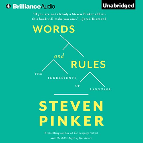 Words and Rules audiobook cover art