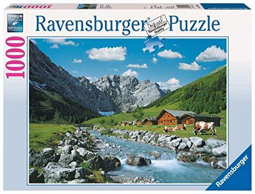 Ravensburger 19216 Monti Karwendel, Austria Puzzle 1000 Pezzi Foto & Paesaggi