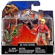 Dr. Ellie Sattler & Compie Jurassic World Legacy Collection Posable Figure 3.75 2018