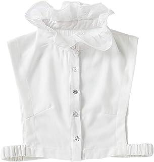 YAKEFJ Vrouwen nep kraag valse kraag half shirt blouse kraag afneembare kraag