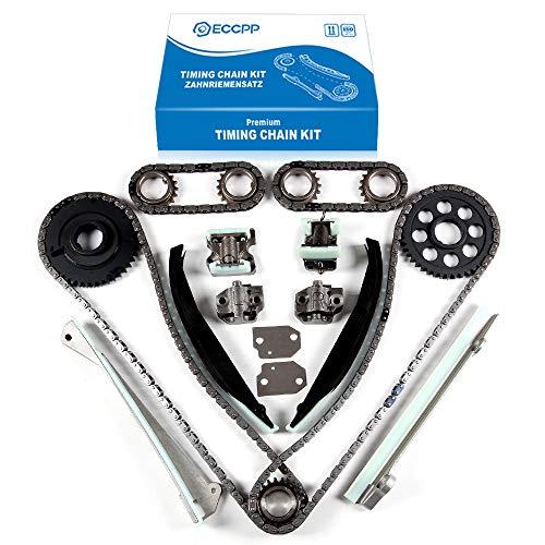 ECCPP Timing Chain Kit fits for 2001-2004 Lincoln Navigator 5.4L TK6054D 9-0391SC 198-041 TK4115 TK6054D 9-0391SC 3-391SA