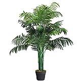 DREAMADE Kunstbaum Groß, Kunstpflanzen im Topf, Künstliche Dekopflanze Zimmerpflanze, Zimmerpalme Künstliche Palme mit Topf
