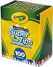 Rotuladores Súper Lavables 100pzs - Crayola