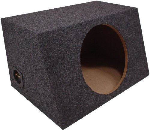 american sound connection car subwoofers American Sound Connection H115 1 x 15-Inch Deep Angle Round Sub Box (Single)