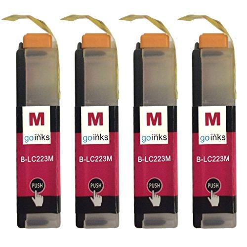 Cartuchos de Tinta Magenta para reemplazar Brother LC223M Compatible/no OEM para impresoras Brother DCP y MFC