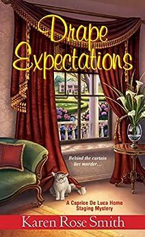 Drape Expectations (A Caprice De Luca Mystery Book 4) by [Karen Rose Smith]