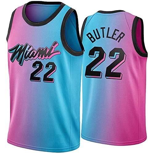 QGF Miami Heat # 22 Jimmy Butler Basketball Jersey 2021 New Season...