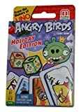 Angry Birds Card Game Holiday Edition From the Makers of Uno