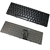New Laptop Keyboard Replacement for IBM Lenovo IdeaPad G560 G565 P/N: 25-009754 25009755 V-109820BS1-US G560-US US Layout Black Color