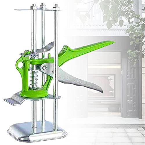 Nivelador Posicionamiento Altura Ajustable 1-10cm, Elevador Azulejos Base Acero 8.5cm, Toma Gabinete Muelle Alta Resistencia Durable