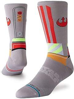 Star Wars X Wing Crew Calcetines, gris (grande)