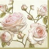 Decorline -20 Tovaglioli Carta ' Beauty Roses' - 33x33 cm-3 strati