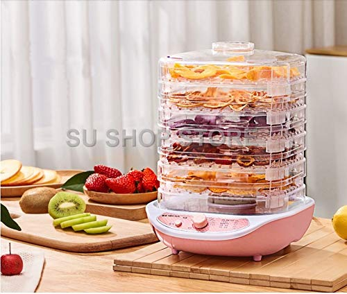 For Sale! JOHNSTON Food Dehydrator Fruit Vegetable Herb Meat Drying Machine Pet Snacks food Dryer wi...