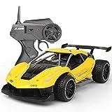 WGFGXQ 1/20 Fast Electric RC Racing Cars Coche Teledirigido para niños y niñas, 2.4GHz 20KM / H Coche de Carreras de Alta Velocidad Off Road RC Drift Car Vehículo Juguetes para niños Regalo