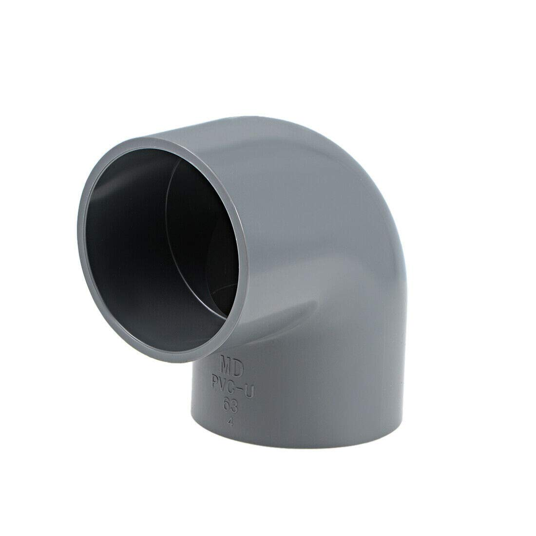 Pipe Fittings 90 Degree Baltimore Mall PVC Socket 35% OFF Fitting Elbow 63mm