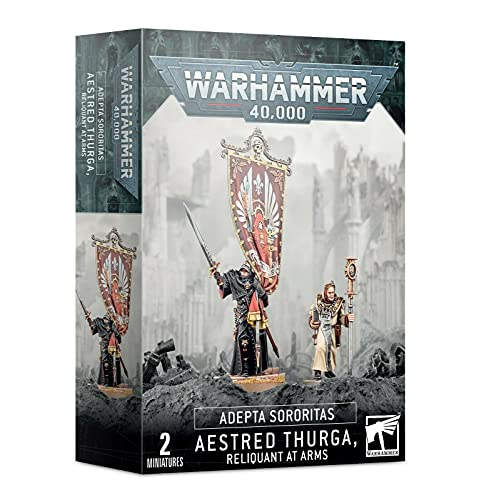 Aestred Thurga Reliquent at Arms Adepta Sororitas Sisters Warhammer 40K