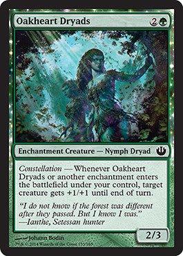 Magic The Gathering - Oakheart Dryads (133/165) - Journey into Nyx