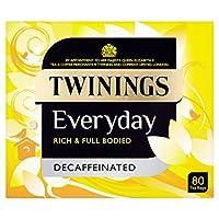 トワイニング日常のお茶はパックごとに80をカフェインレス (x 2) - Twinings Everyday Tea Decaffeinated 80 per pack (Pack of 2) [並行輸入品]