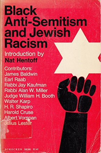 Black Anti Semitism And Jewish Racism