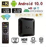 Android 10.0 TV-Box, X96 Mini 2020 Aktualisierte Version X96Q 2GB RAM 16GB ROM Smart-TV-Box Allwinner H313 Quad-Core-Unterstützung 4K 3D-Set-Top-Box X96 Mini WiFi Home Media Player