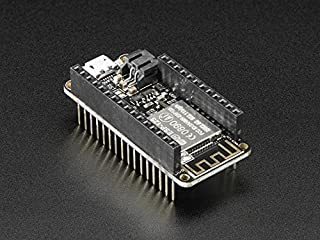 Adafruit (PID 3213) Assembled Feather HUZZAH w/ ESP8266 WiFi With Stacking Headers