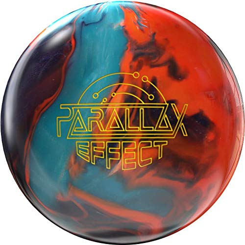 Storm Parallax Effect 15lb, Tangerine/Midnight/Turquoise
