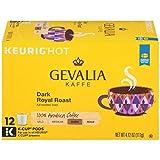 Gevalia Dark Royal Roast Dark Roast K‐Cup Coffee Pods (72 Pods, 6 Boxes of 12)