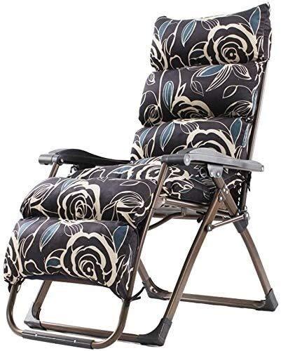 WANGCAI Silla de la Mujer Embarazada Cero for sillas de Gravedad Oficina del salón de Silla Plegable Silla reclinable sillón Silla Silla Lazy (Color : E)