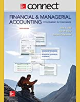 Connect 2 Semester Access Card for Financial and Managerial Accounting